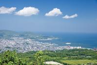 北海道 毛無山から眺める小樽市街