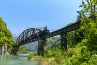 福島県 SL只見線新緑号 第四橋梁