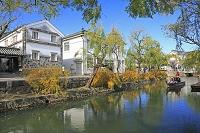岡山県 倉敷美観地区とくらしき川舟流し