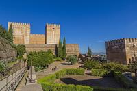 スペイン グラナダ アルハンブラ宮殿 アルカサバ