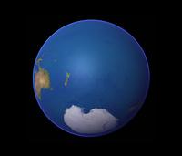 地球の衛星画像