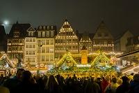 ドイツ フランクフルト レーマー広場 クリスマスマーケット