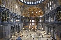 トルコ イスタンブール アヤソフィア博物館