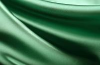 緑のドレープ 布