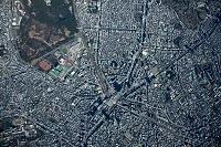 東京都 渋谷駅周辺 高度3,000m