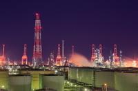 神奈川県 横浜根岸の工場夜景