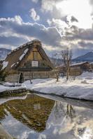 世界遺産白川郷の雪景色