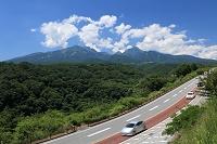 山梨県 八ケ岳と北杜八ケ岳公園線