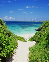 沖縄県・宮古島 砂山ビーチ
