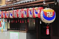 京都府 地蔵盆の提灯
