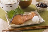 ギンザケの焼魚