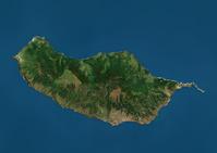 マデイラ衛星画像
