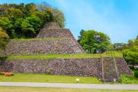 石川県 金沢城 本丸南面の高石垣