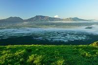 熊本県 阿蘇市 大観峰から見た阿蘇山