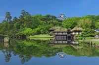 滋賀県 玄宮園と彦根城