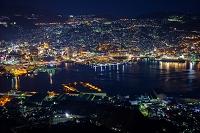 長崎県 稲佐山展望台から長崎市の夜景