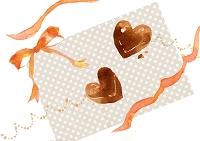 水彩画 チョコレート