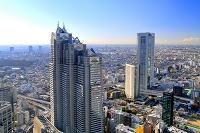東京都 新宿パークタワーと東京オペラシティー