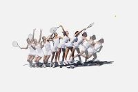 テニス 合成