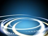 渦巻く光の輪