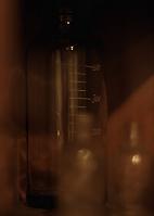 実験用のガラス瓶