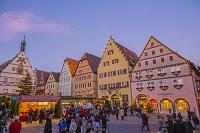 ドイツ ローテンブルク マルクト広場 クリスマス市と市議宴会館
