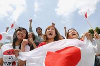 日本人観客