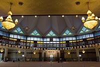 マレーシア ナショナルモスク メインホール