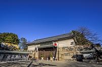 愛知県 名古屋城正門と門松