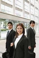 笑顔のビジネスチーム