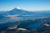 神奈川県 箱根芦ノ湖より富士山