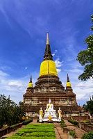タイ アユタヤ ワット・ヤイチャイモンコン 仏塔