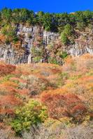 奈良県 曽爾村 屏風岩紅葉