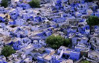 インド ジョードプル ブルーシティー