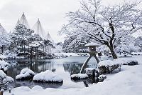 石川県 雪の兼六園
