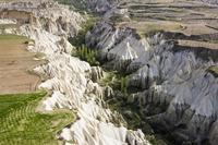 トルコ カッパドキア ギョレメ付近 トゥファ岩