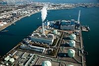 神奈川県 南横浜火力発電所  電源開発磯子火力発電所