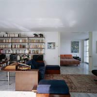 ホームオフィスと寝室のインテリア