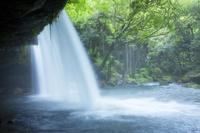 熊本県 鍋ヶ滝 裏見の滝