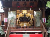 東京都 中央区 波除神社 獅子殿