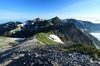 長野県 白馬岳と杓子岳・旭岳