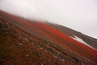山梨県 富士山 八合目