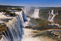 ブラジル イグアスの滝