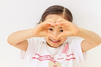 6歳の日本人の女の子