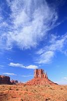 アメリカ合衆国・アリゾナ州 モニュメントバレーレフトミトン