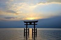 滋賀県 琵琶湖の白鬚神社