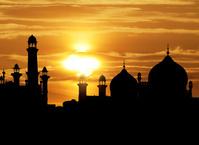 パキスタン・イスラム共和国 ラホール バードシャーヒ・モスク...