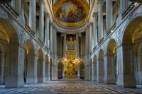 フランス ヴェルサイユ宮殿 王室礼拝堂