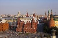 ロシア モスクワ 赤の広場とクレムリン