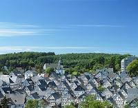 ドイツ・フレウデンベルク 木骨建築の町並み